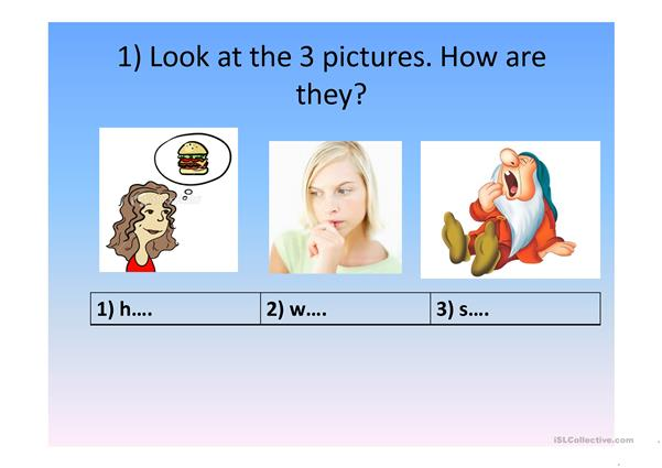 Quizz for elementary students