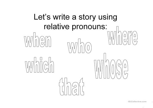 Relative pronouns PPT