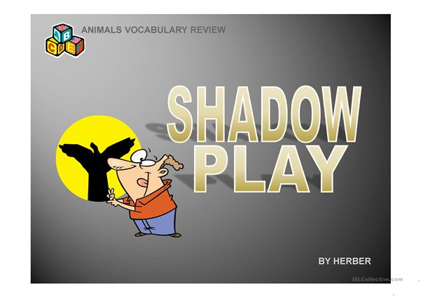 Shadow play PPT