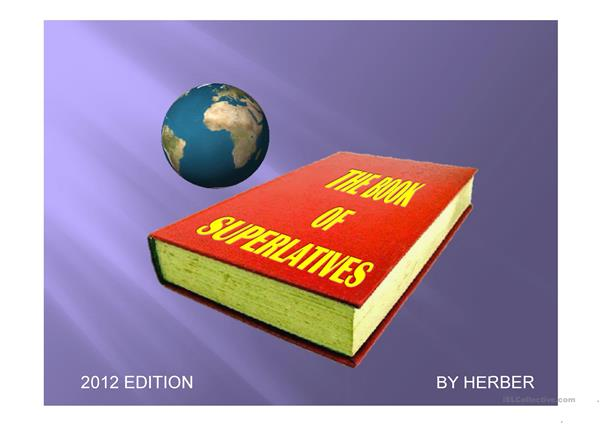 The book of superlatives PPT