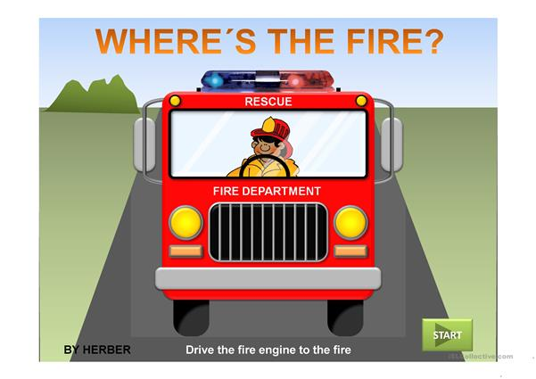 Where's the fire PPT