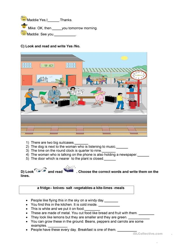 worksheet for4th-5th graders
