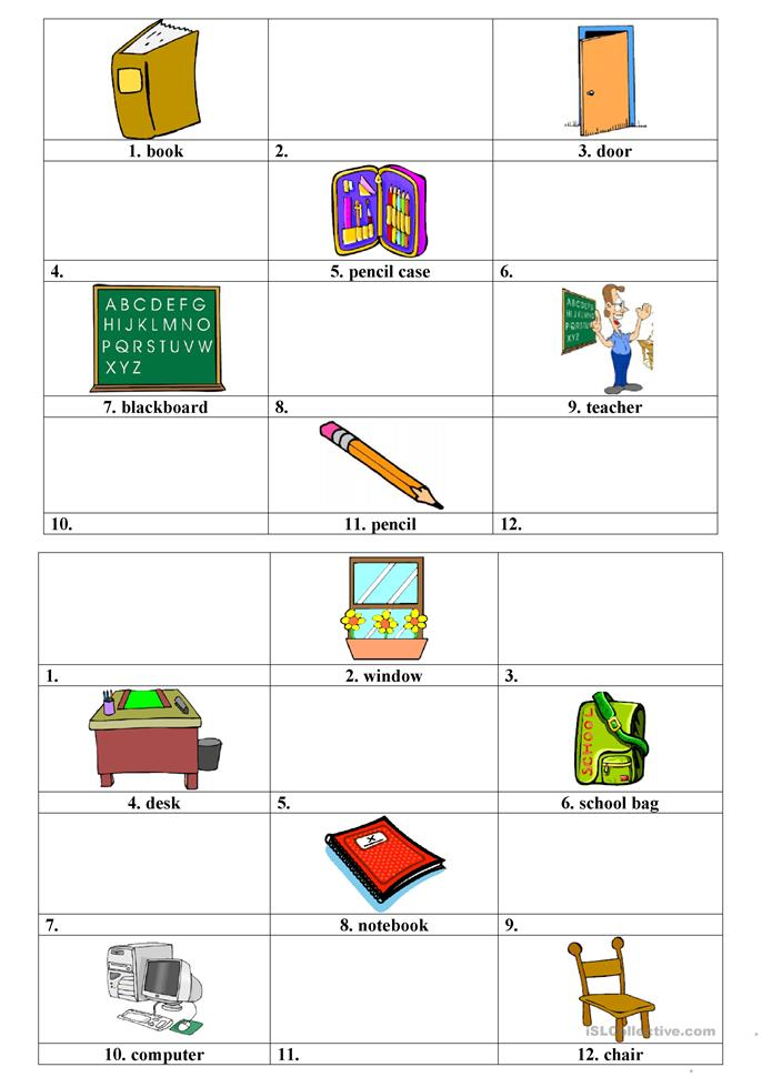 Classroom pairwork activity - ESL worksheets