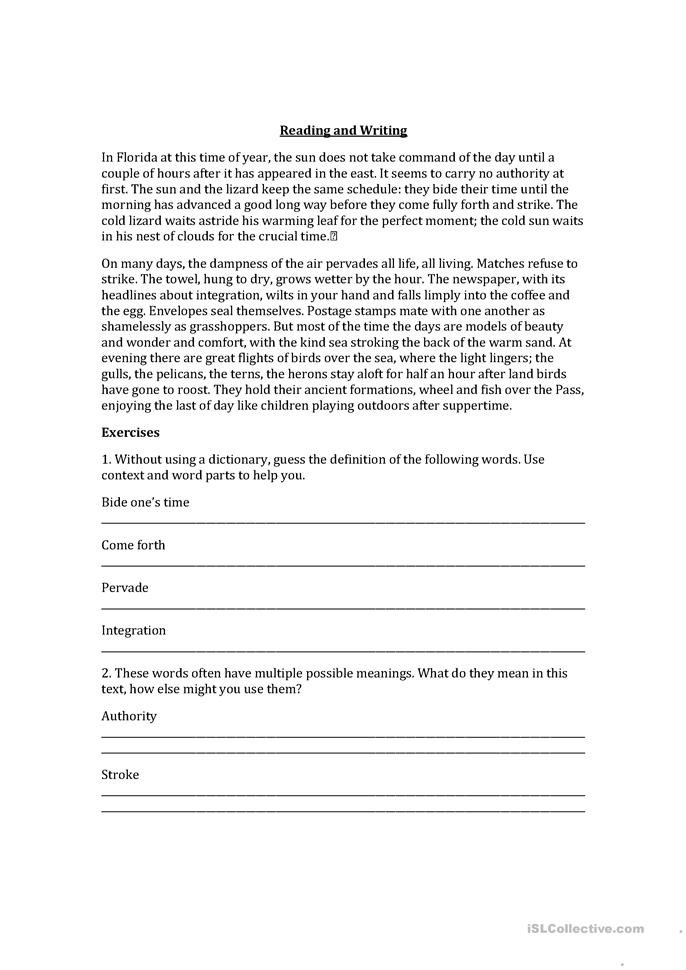 descriptive essay writing worksheets Free descriptive essay grade 6 papers, essays, and research papers.