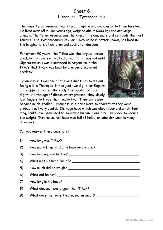 18 free esl dinosaurs worksheets. Black Bedroom Furniture Sets. Home Design Ideas