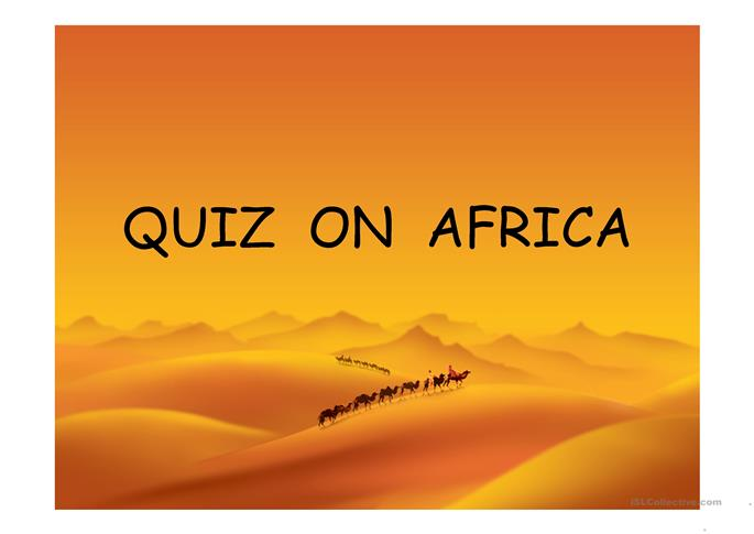 quiz about africa