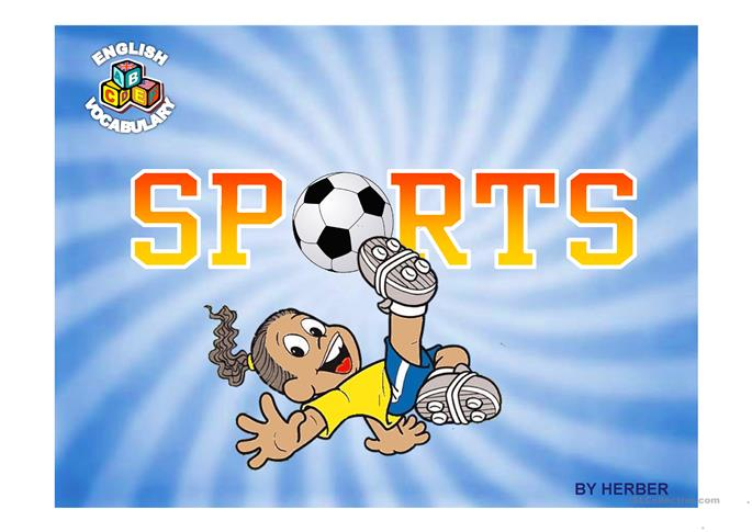 SPORTS PPT - ESL powerpoints