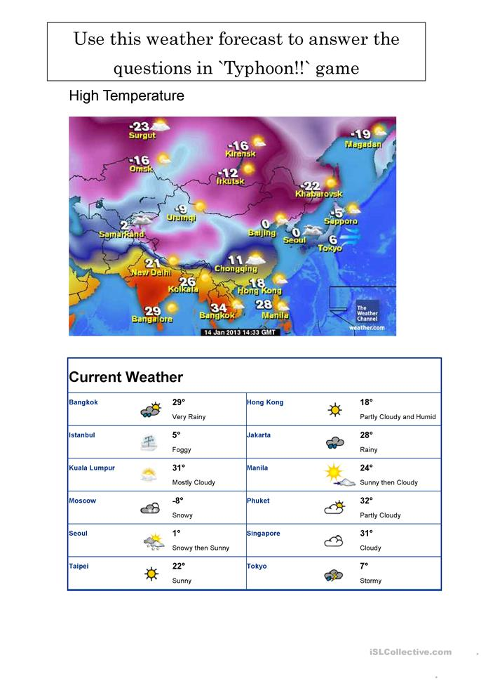 typhoon weather board game worksheet free esl printable worksheets made by teachers. Black Bedroom Furniture Sets. Home Design Ideas