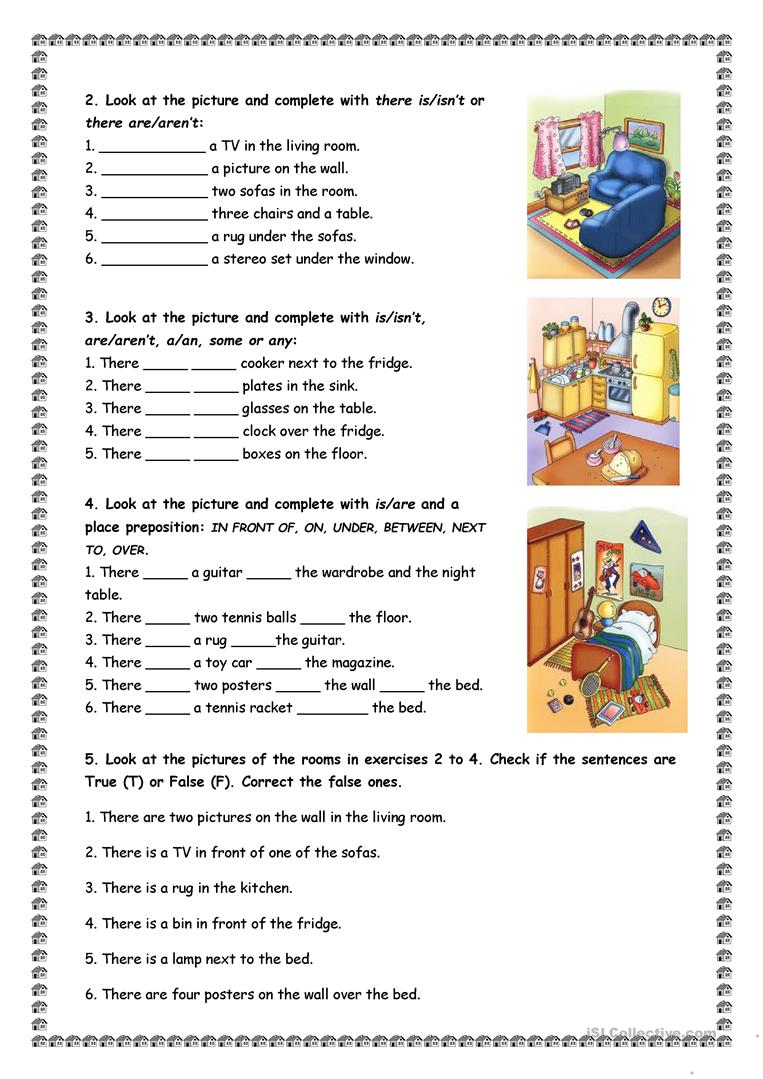 house and furniture there is are worksheet free esl printable worksheets made by teachers. Black Bedroom Furniture Sets. Home Design Ideas