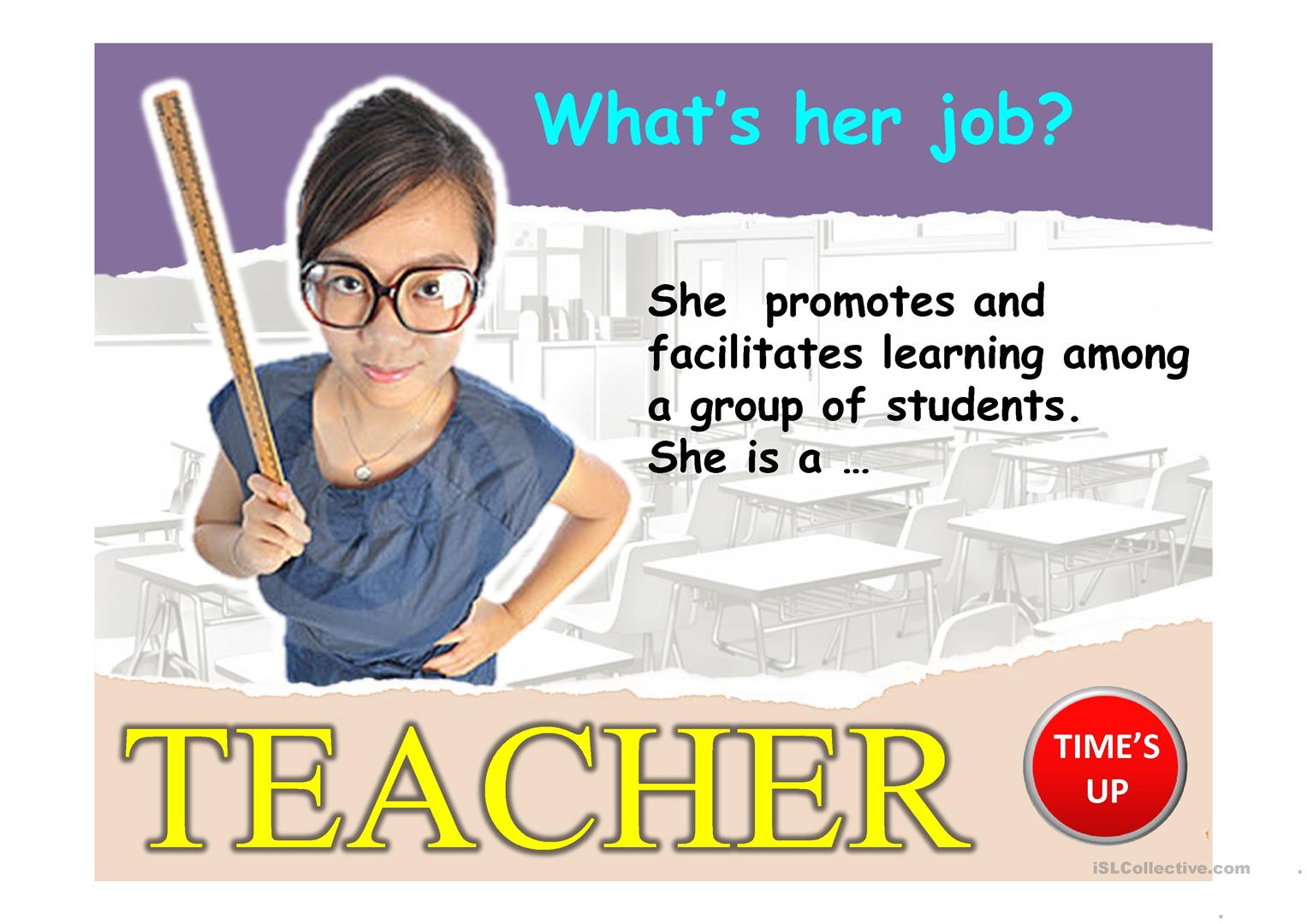 JOBS PPT worksheet - Free ESL projectable worksheets made by teachers