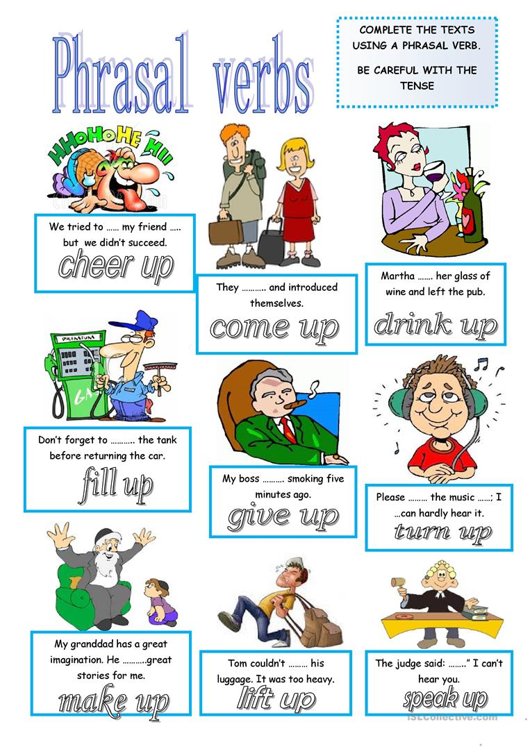 phrasal verbs lesson In this lesson, i will teach you 23 phrasal verbs that use come, like come across, come out, come in, and more so come on let's start related lessons.