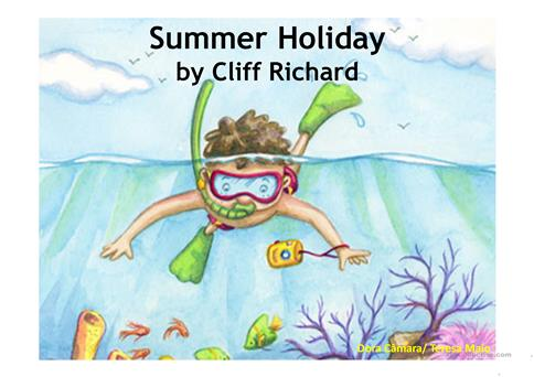 Summer Holiday worksheet - Free ESL projectable worksheets made by ...