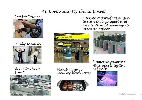 Airport Security Check-point