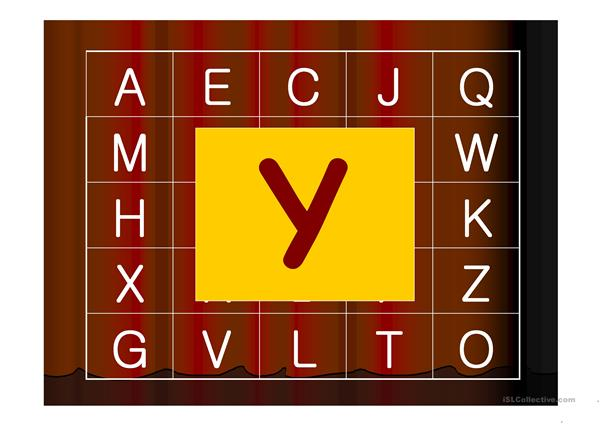 Alphabet Guessing Game