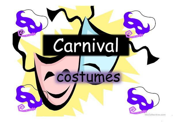 Carnival-Halloween Costumes