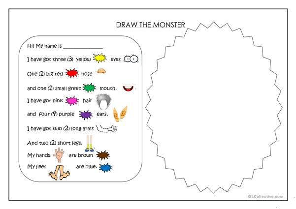Draw a monster!
