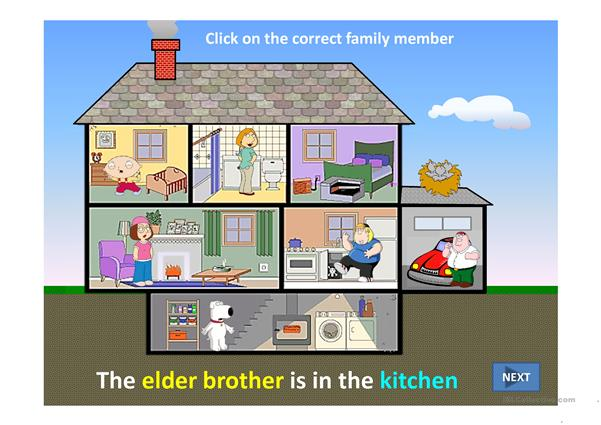 FAMILY AT HOME PPT