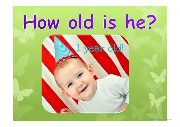 How old is he?