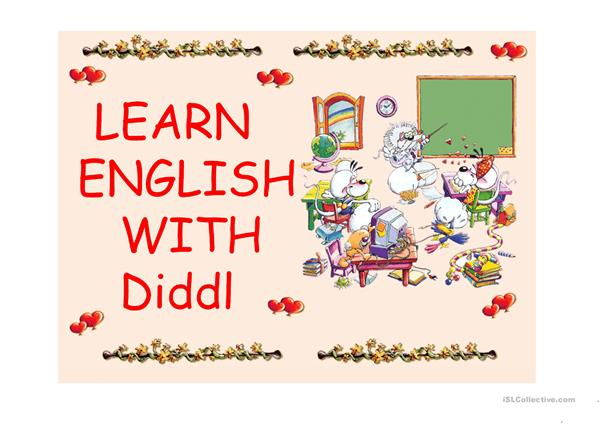 LEARN ENGLISH WITH DIDDL