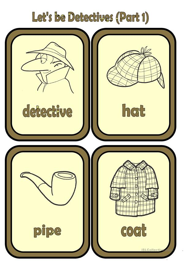 Let's be Detectives