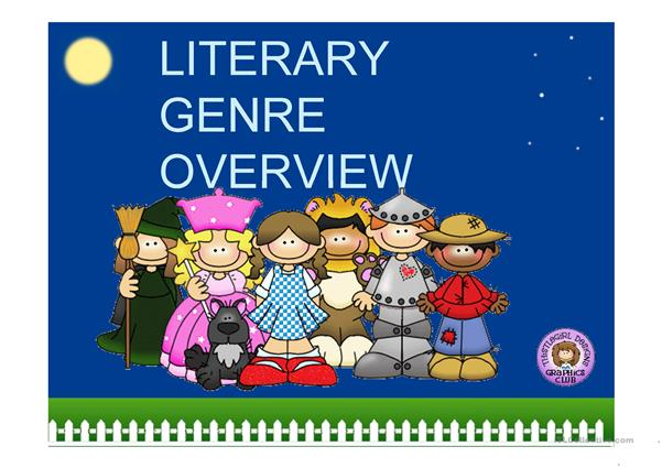 LITERARY GENRE - OVERVIEW