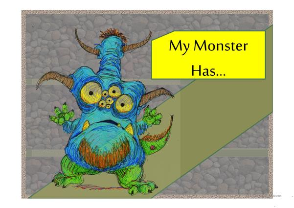 My Monster Has...PPT