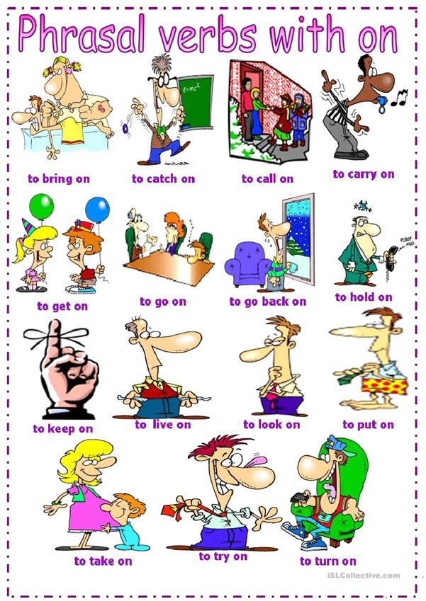 phrasal verbs with