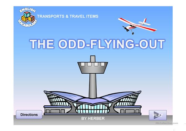 THE ODD FLYING OUT PPT