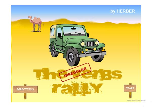 THE VERBS RALLY PPT