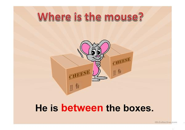 Where is the mouse? PPT