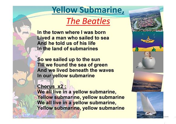 Yellow Submarine by the Beatles