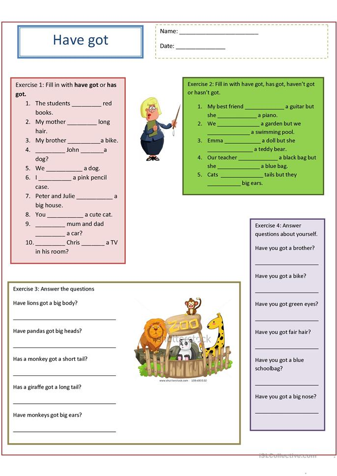 ... exercises worksheet - Free ESL printable worksheets made by teachers