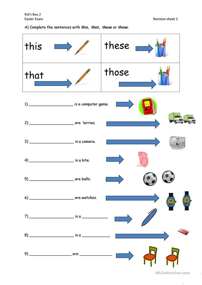 159 FREE ESL Pronouns: THIS, THAT, THESE, THOSE (demonstratives ...