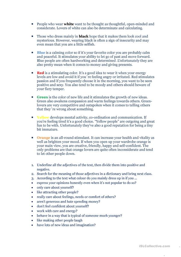 True Colors English Esl Worksheets For Distance Learning And Physical Classrooms,Most Beautiful Places To Live In The Usa