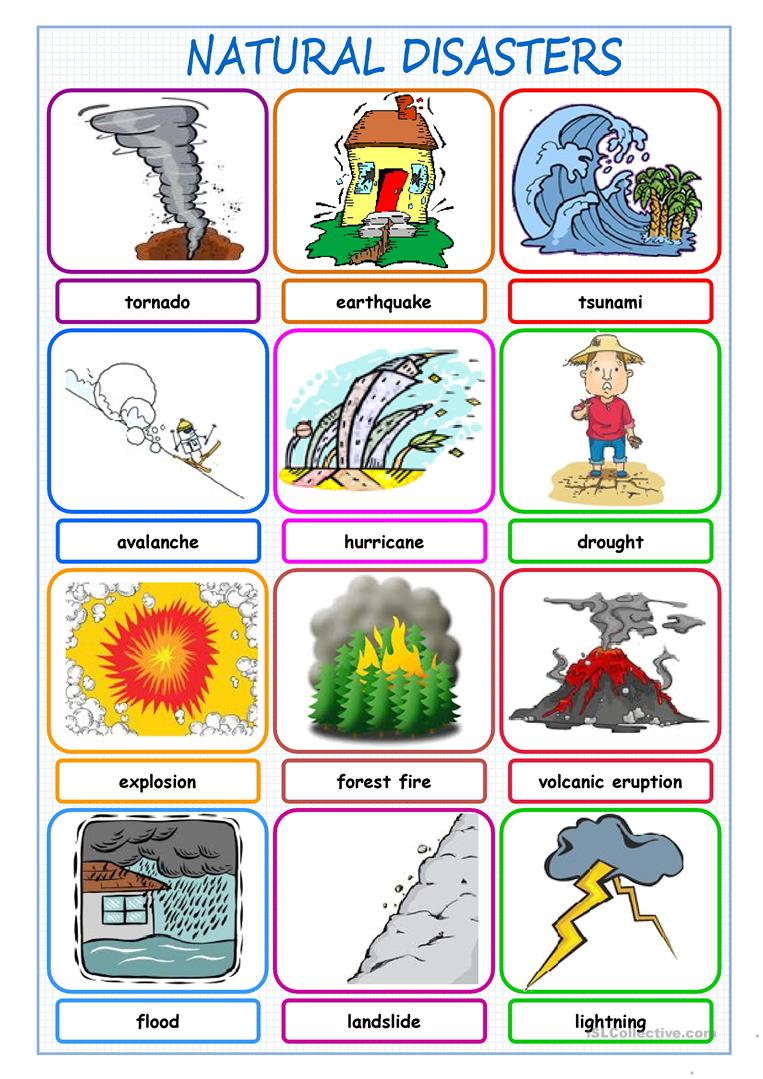 natural disasters picture dictionary worksheet free esl printable worksheets made by teachers. Black Bedroom Furniture Sets. Home Design Ideas