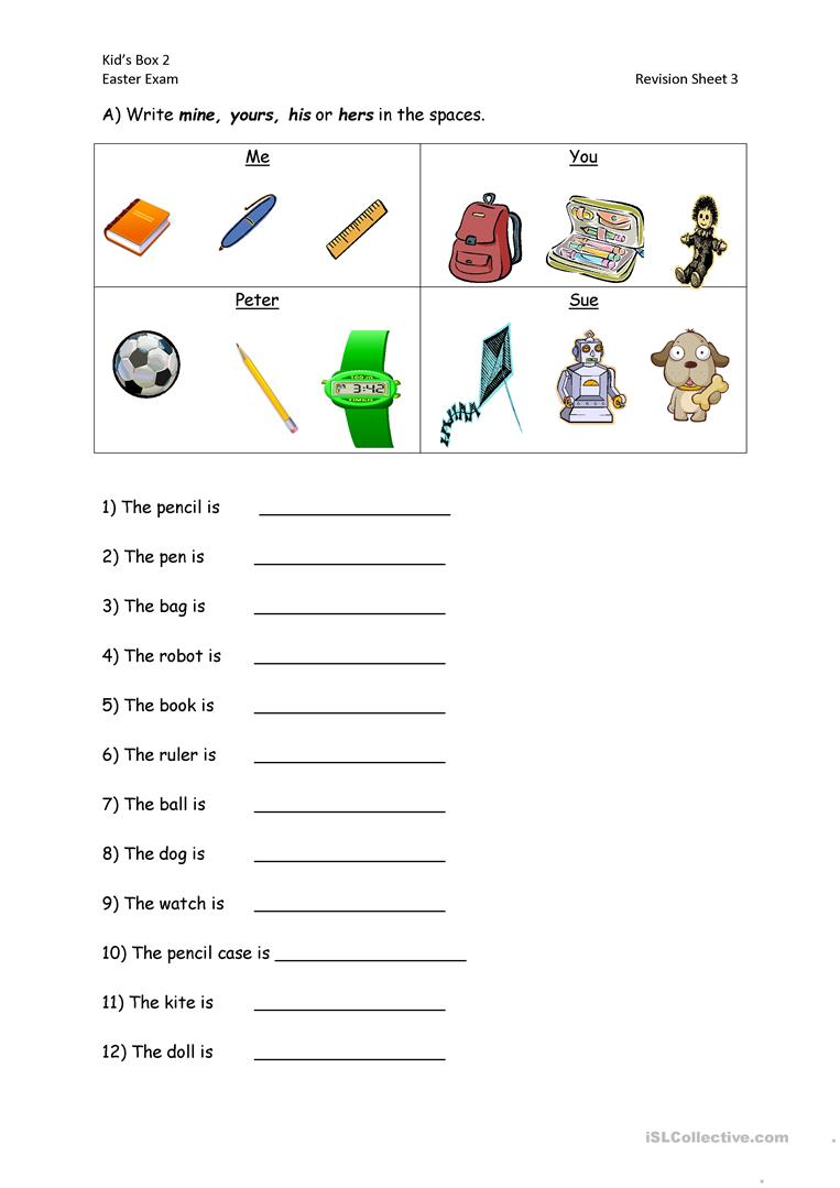 42 Free Esl Demonstrative Pronouns Worksheets