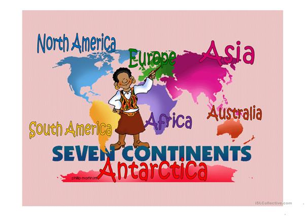 Continent & Countries & Nationalities