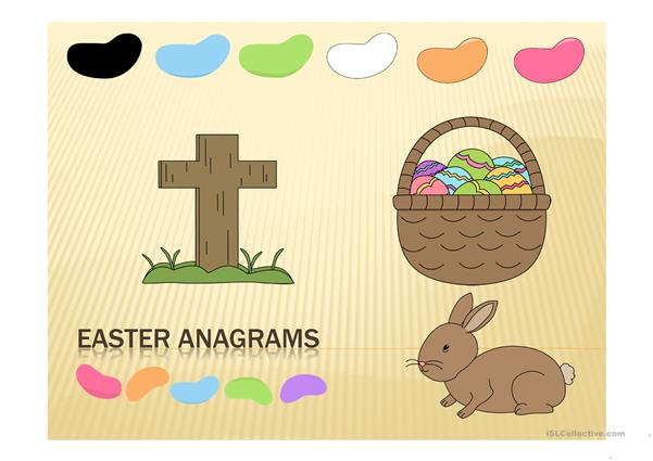 Easter Anagrams