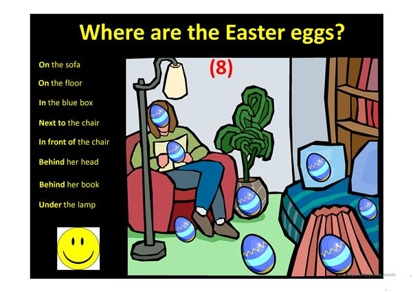 Easter egg hunt ppt game