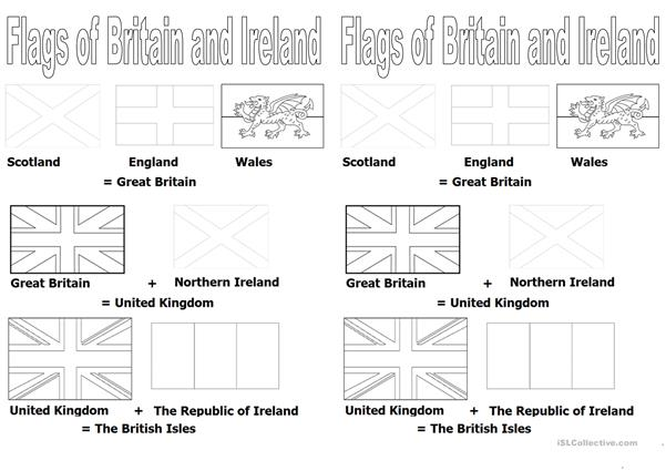 Flags of Britain and Ireland