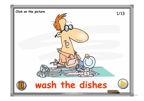 HOUSEHOLD CHORES PPT