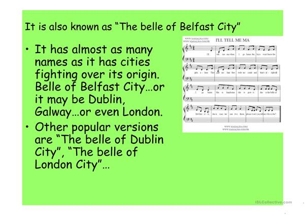 Irish Music: Belle of Belfast City