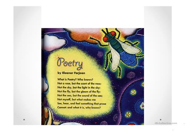 poems in primary
