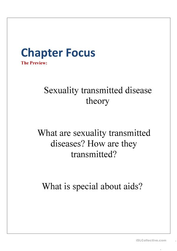 Sexuality Transmitted Diseases (a Full unit designed!)