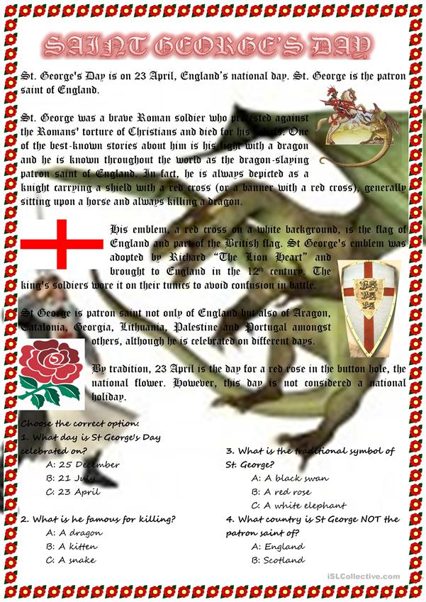 St. George's Day (England)