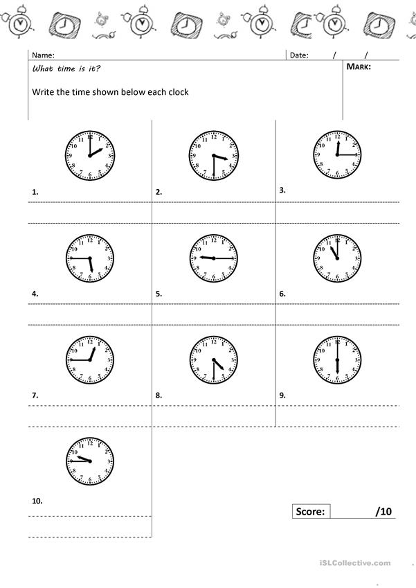 Time test 2