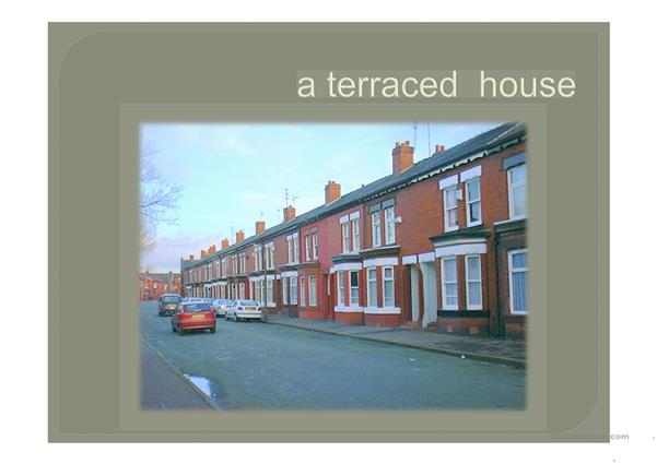Vocabulary  to  talk  about  homes  and  location