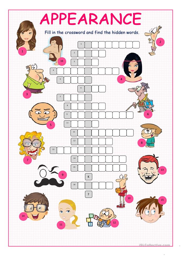 big_46318_appearance_crossword_puzzle_1 Teaching English Appearance Worksheets on research worksheets, teaching english coloring pages, medical worksheets, environment worksheets, teaching english forms, latin worksheets, printable classroom worksheets, testing worksheets, tutoring worksheets, philosophy worksheets, teaching english games, finance worksheets, contractions with not worksheets, learning worksheets, media worksheets, conservation worksheets, pronunciation worksheets, teaching english clip art, travel worksheets, economics worksheets,
