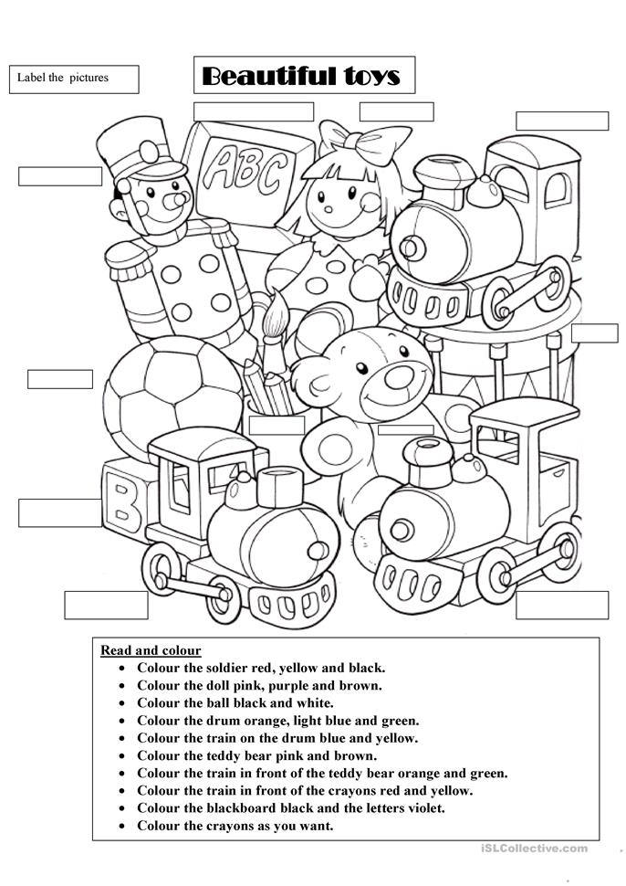 Beautiful toys worksheet - Free ESL printable worksheets made by ...
