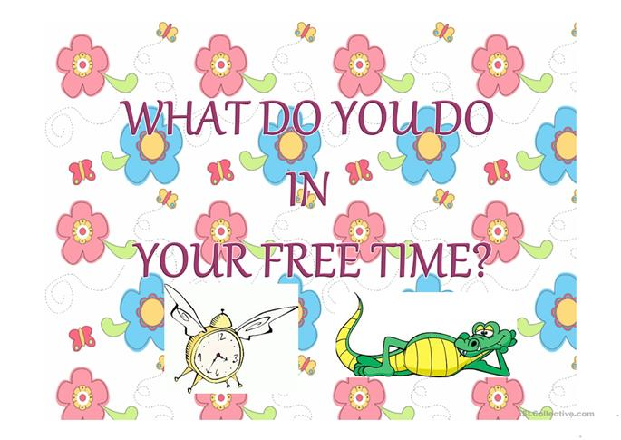 what do u do in your free time How to say what do you do in your free time in spanish includes translation from english and pronunciation.